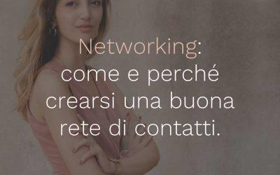 09 – Networking: come e perché crearsi una buona rete di contatti